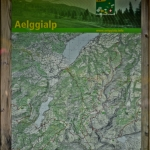 Aelggialp Hiking Map