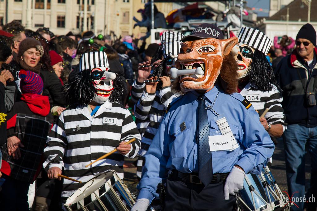 Basel Carnival Parade Participants