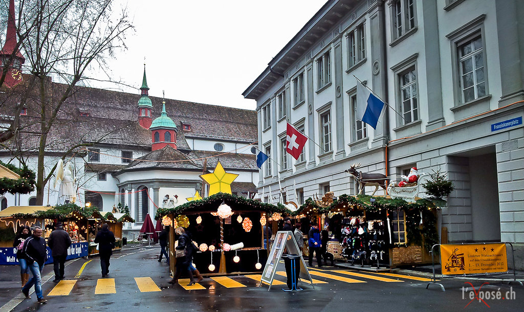 Outdoor Christmas Market Luzern 2012