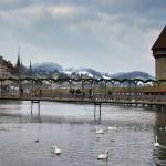 Wintery Kapellbrücke