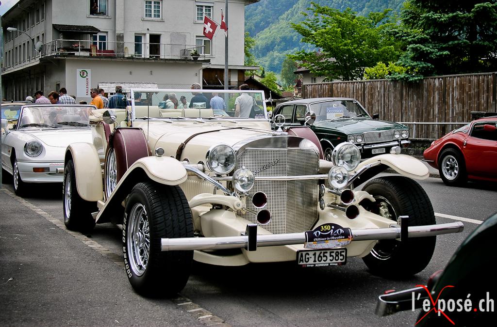 Classic Cars in Obwalden 2012