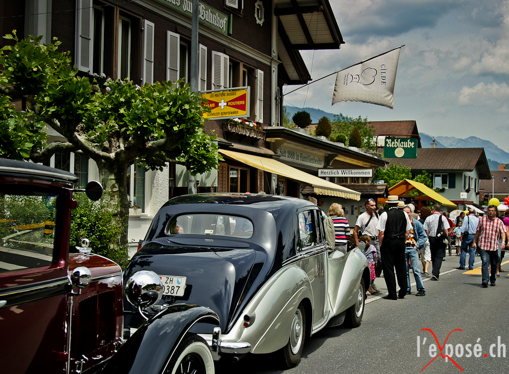 Automotive Classics in Obwalden