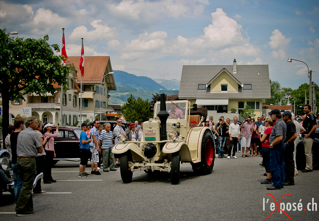 Classics at Oldtimer in Obwalden 2012