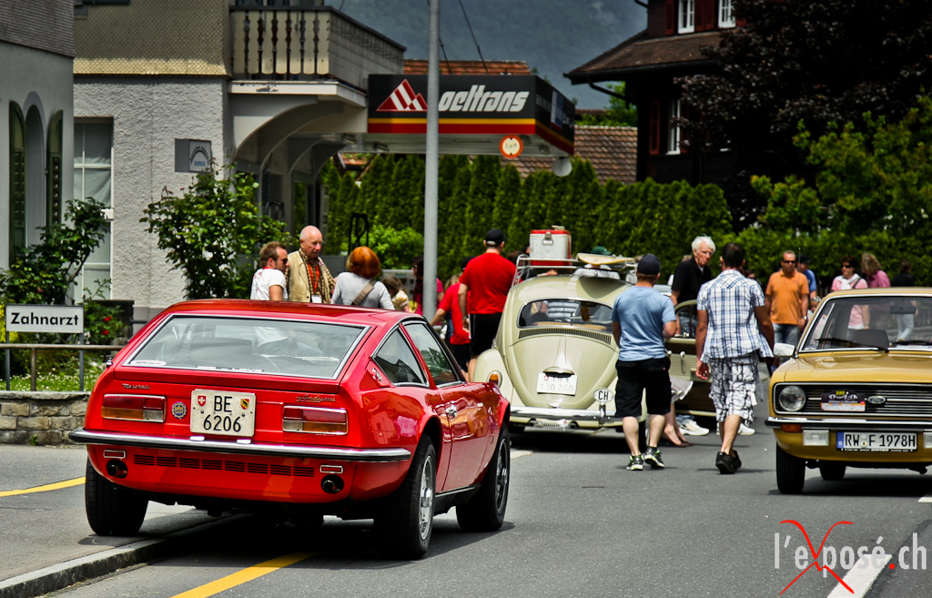 Oldtimer in Obwalden Car Show