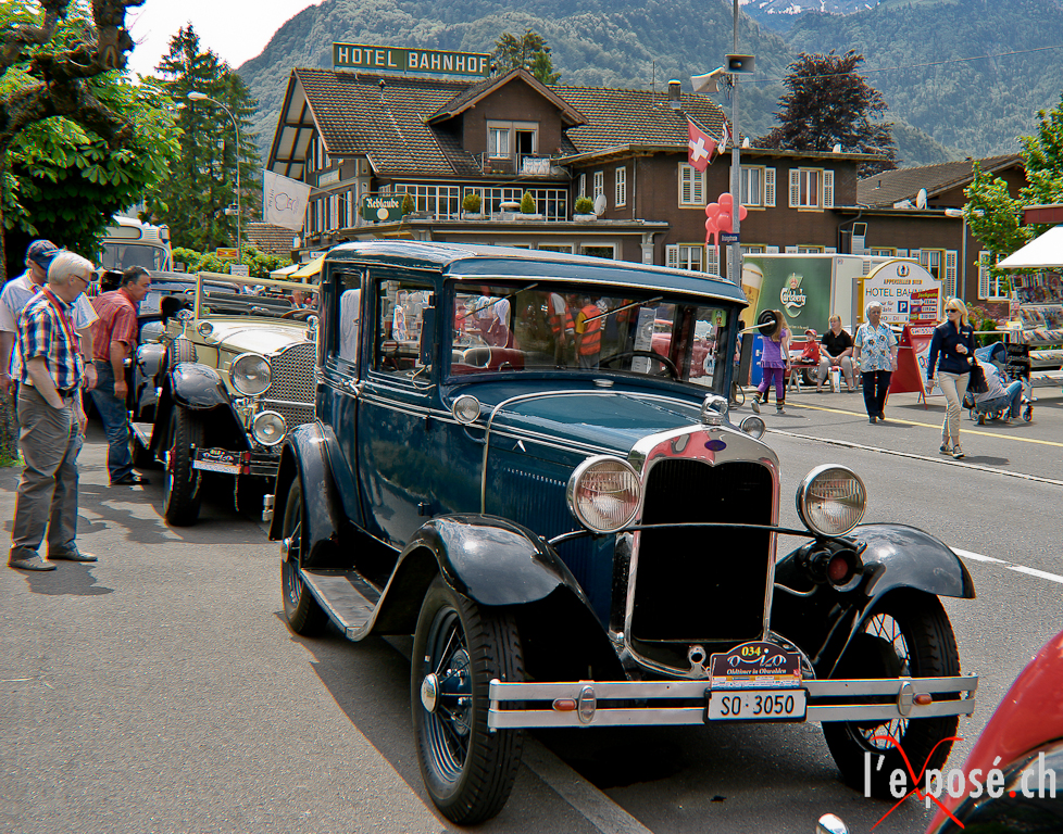 Oldtimers in Obwalden Day 2