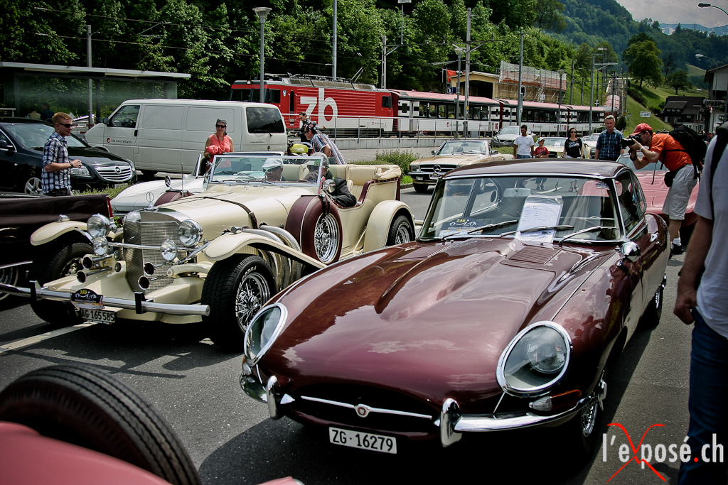 Classic Cars at Oldtimer in Obwalden