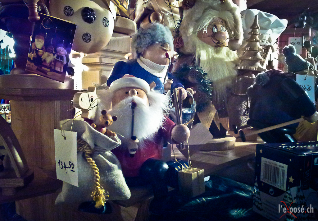 Wood Christmas Figures