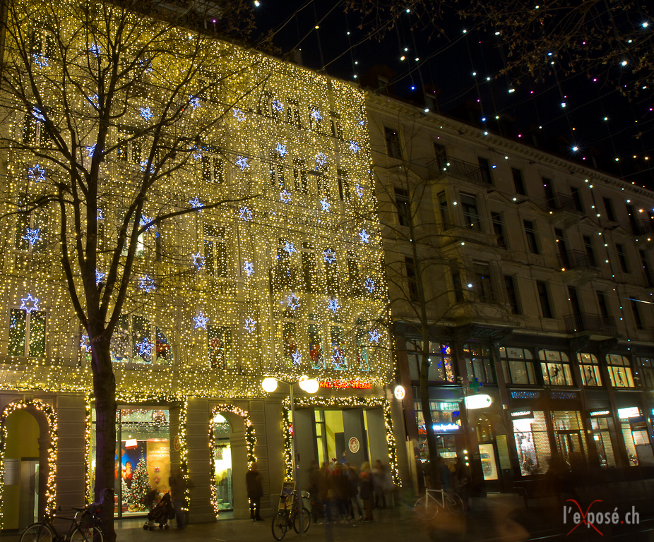 Christmas Lights in Zürich