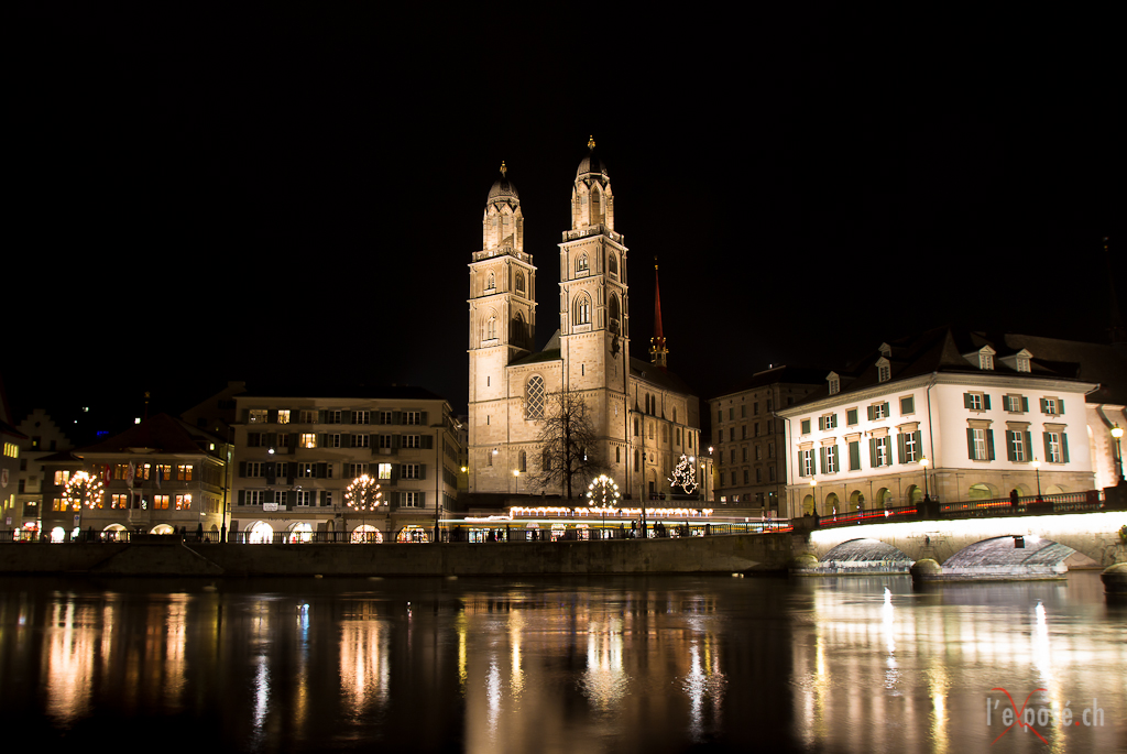 Grossmünster Cathedral Advent 2012