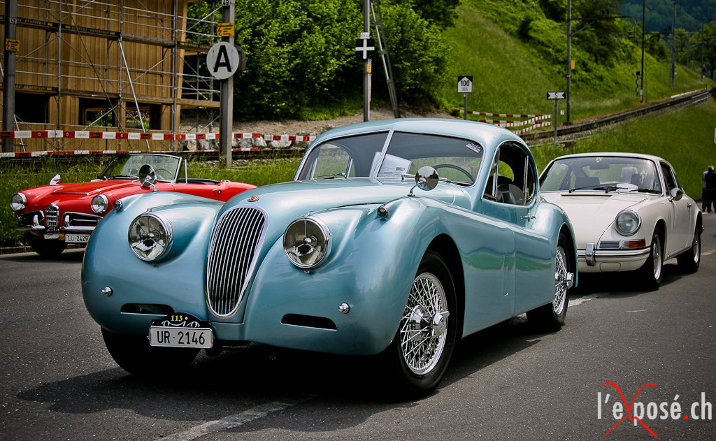 Jaguar XK120 at OIO 2012