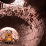Gotthard Base Tunnel Supports. Image Source: Implenia.com