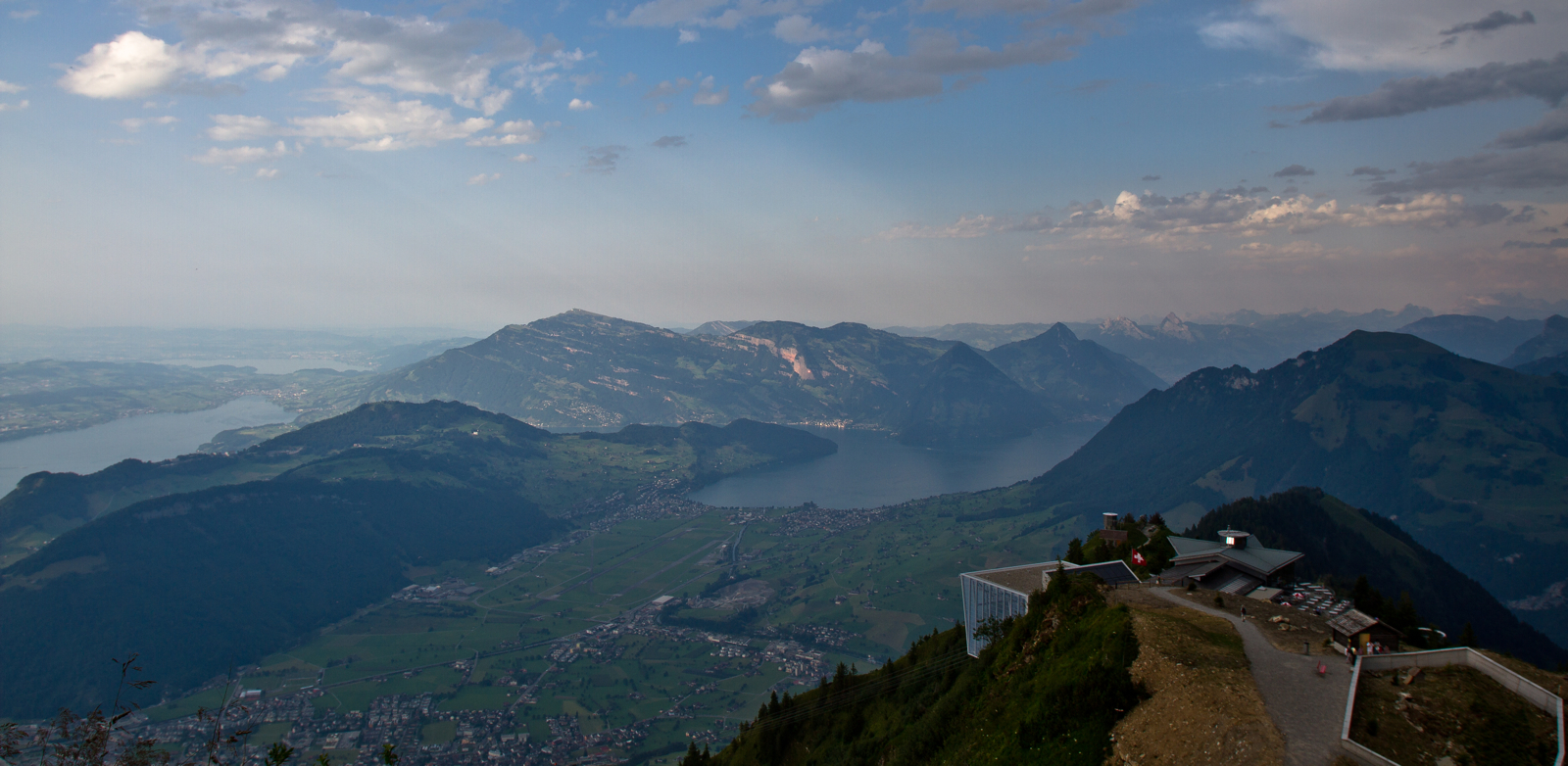 View from Stanserhorn