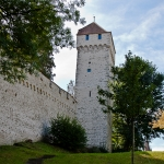 Old City Fortification in Lucerne