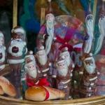 Chocolate Santa Display