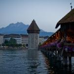 Pilatus and Kapellbrücke Luzern