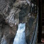 Inside the Rosenlaui Gorge