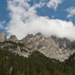 Mountains surrounding Rosenlaui