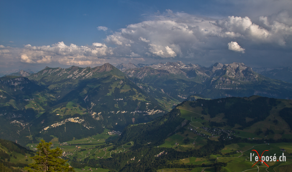 View from the Summit of the Stanserhorn
