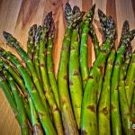 Green Asparagus Fan