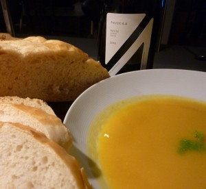 Carrot Lime and Fennel Soup