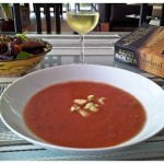 Grilled Heirloom Tomato Gazpacho