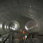 Sedrun Multifunction Station of the Gotthard Base Tunnel. Image Source: Bilfinger-Berger