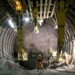 Steel Rings at the Sedrun Section of the Gotthard Base Tunnel. Image Source: Bilfinger-Berger