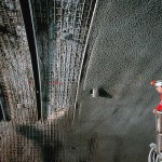 Gotthard Base Tunnel Lining installed from the TBM. Image Source: Herrenknecht Gotthard Base Tunnel Project Gallery